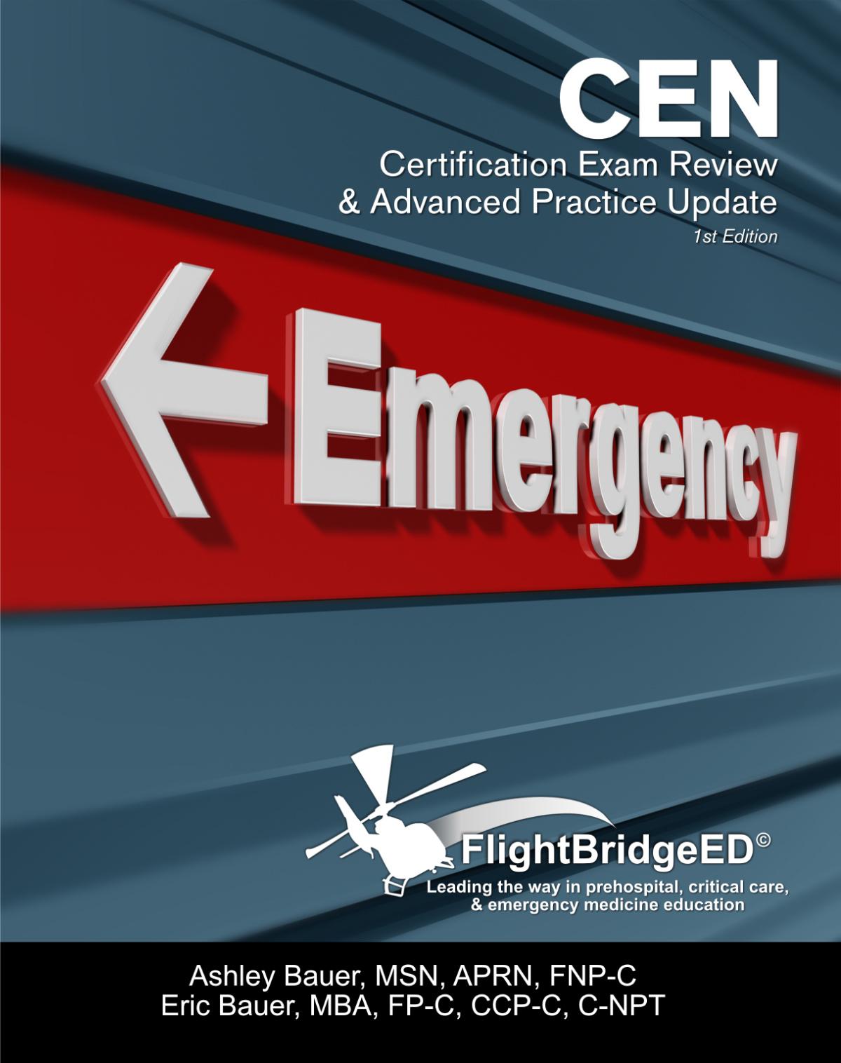 cen certification practice advanced update flightbridgeed